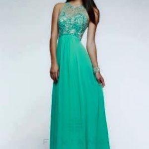 Faviana brand prom/floor-length dress, size 2.